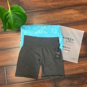 Brand New NVGTN Pro Shorts - Black Speckled